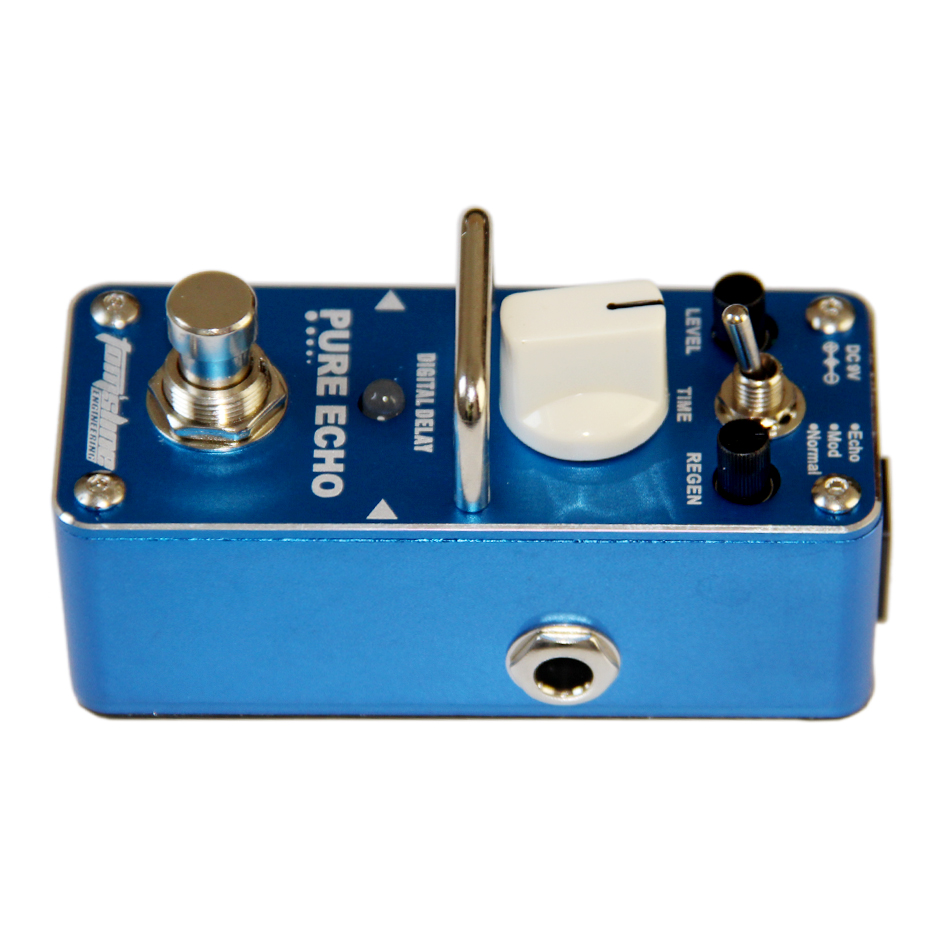 AROMA APE-3 PURE ECHO Digital retard de la pédale effets de guitare pédale Echo Mod Normal 3 Modes True B - 4