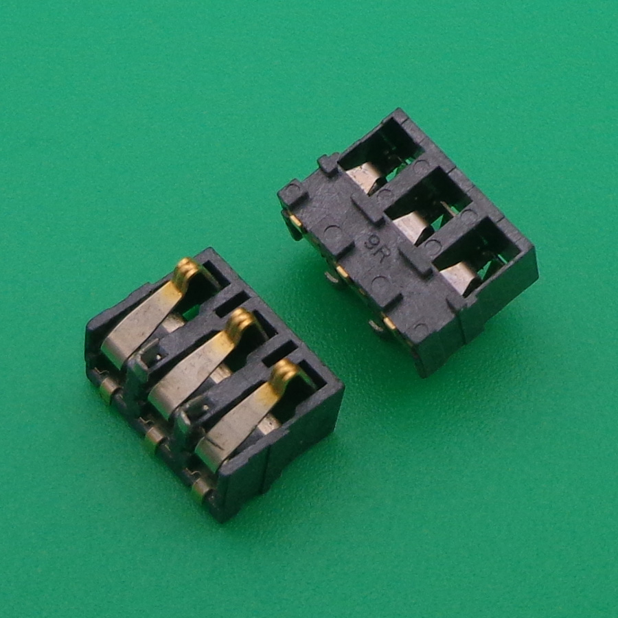 10pcs/lot New Inner <font><b>FPC</b></font> <font><b>Connector</b></font> Battery Holder Clip Contact replacement <font><b>repair</b></font> parts for Nokia 3100 N3100 image