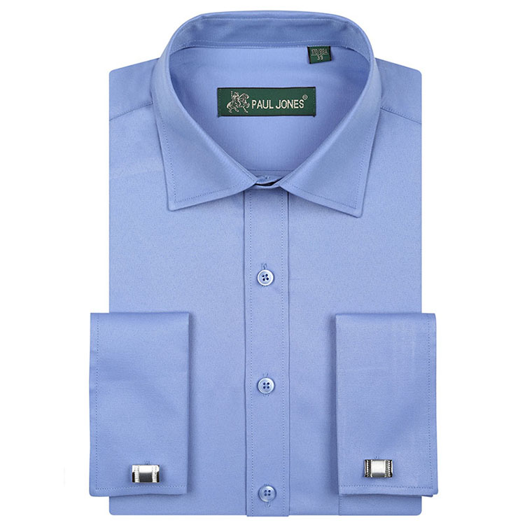 Online buy wholesale polyester chemise from china for Mens dress shirts cufflinks