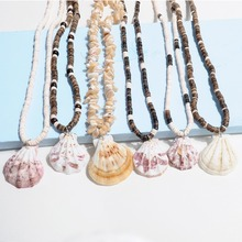 Artilady puka necklace shell coconut beads for women summer beach jewelry gift drop shipping