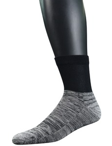 Image 5 - Mens 4 Pairs Bamboo Diabetic Ankle Socks with Seamless Toe And Cushion Sole,L Size(Socks Size:10 13)