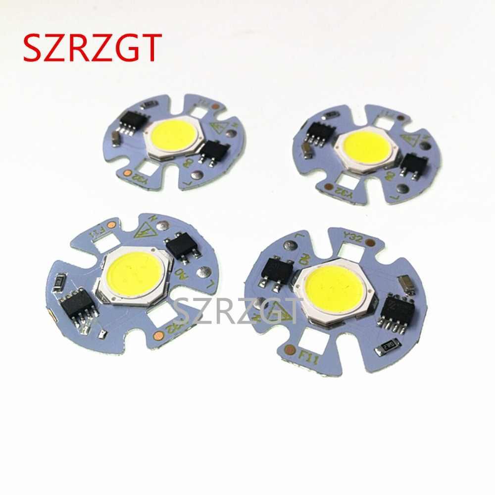 LED COB Chip Lamp 3W 5W 7W 9W 220V Input Smart IC No Driver High Lumens For DIY LED Flood Light Downlight Spotlight 220V