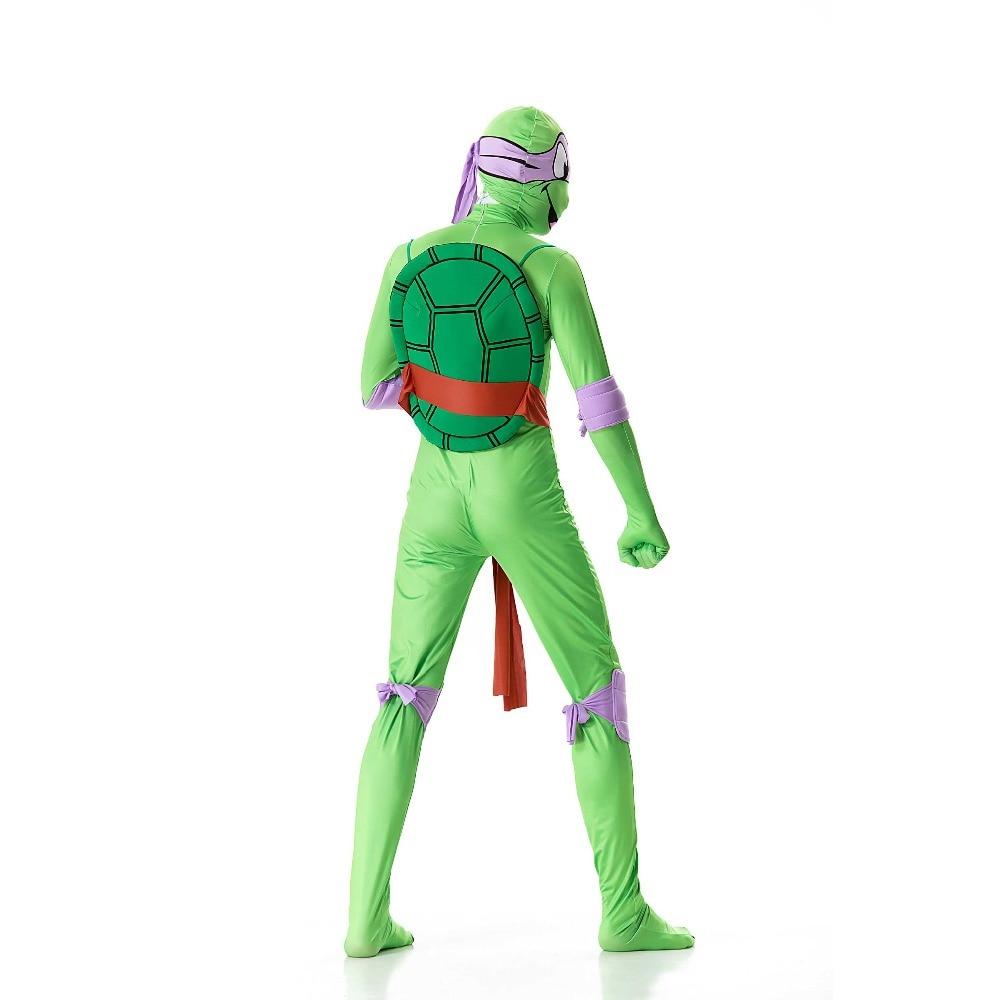 2018 Teenage Mutant Ninja Turtles Cosplay Costume Men Bodysuit