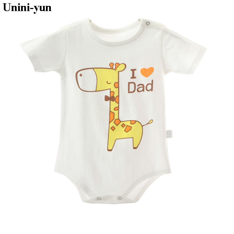 2017 Newborn Summer Rompers Cute Deer Roupa de bebes Baby Girl Boy Jumpsuit Floral Romper Infantil Outfit Clothes Coveralls 2016 bebe rompers ropa pink minnie hoodies newborn long romper baby girl clothing roupa infantil jumpsuit recem nascido