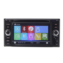 2 Din 7 Inch Car DVD Car DVD Player for Toyota Old Corolla multimedia Radio GPS Bluetooth Rear Camera Digital touch screen BT FM