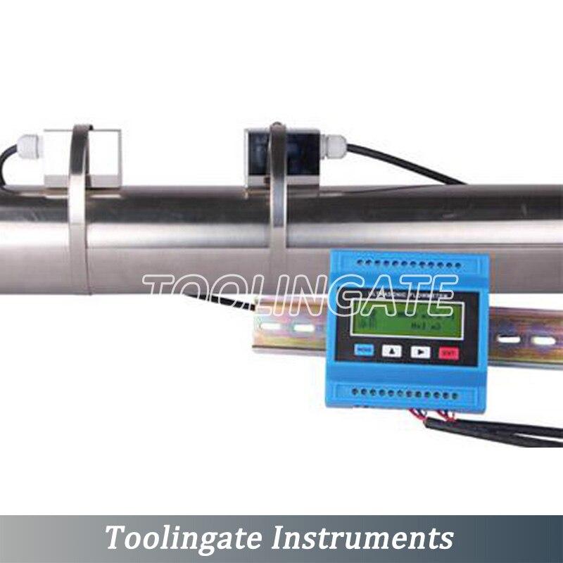 TUF-2000M Digital Ultrasonic Liquid Flow Meter TS-2 Transducer (DN15mm-DN100mm) Module Flowmeters