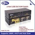 2017 ckl 2 portas usb switch kvm dvi 2 em 1 Switcher de Vídeo Teclado Mouse Totalmente com Áudio Suporte DVI COM HDCP CKL-92D