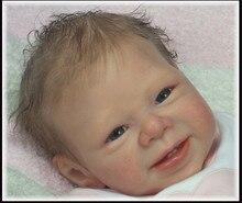 Лучшая Цена Reborn Baby Doll Комплекты Сделано Мягкого Силикона Винил, Пригодный Для 22 дюймов Reborn Doll, подходит Для 20 мм Глаза Горячая Кукла Аксессуары