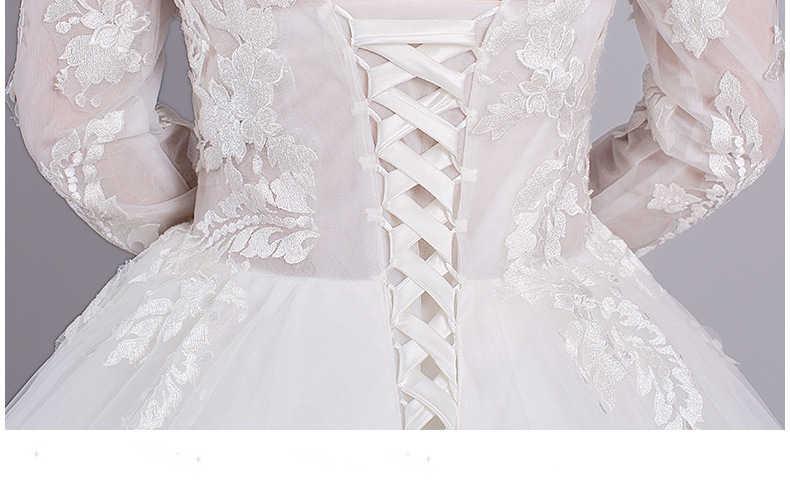 Lace Vestidos de Casamento Backless Vestidos de Casamento Retro Vestidos de Casamento vestido de noiva de luxo 2017 WED90346