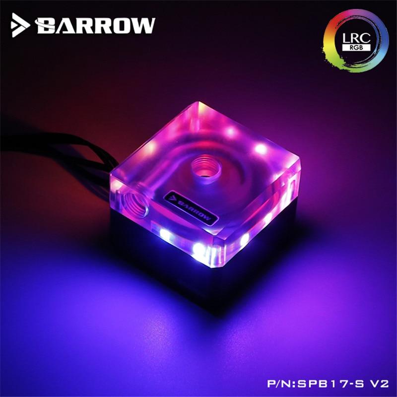 Barrow speed control type Pump for Watercooling PWM 17W Standard transparent LRC2.0 SPB17-S