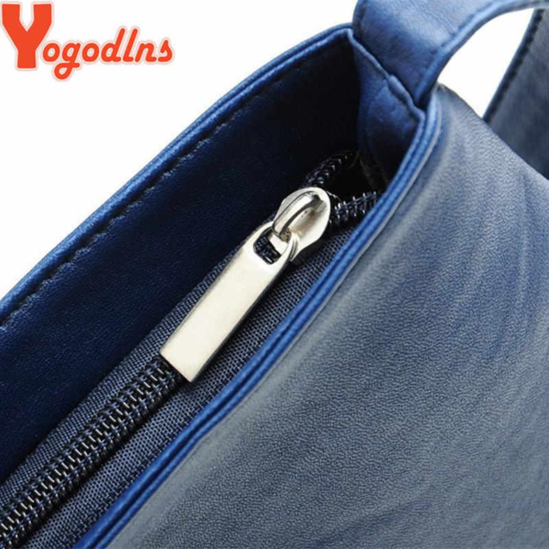 Yogodlns bolsa feminina de couro, estilo carteiro, bolsa de mão, de ombro, de balde