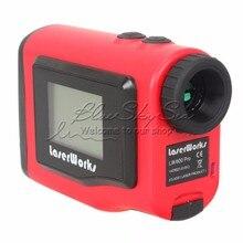 LaserWorks 600M 1.8″ Laser Rangefinder Speed Measuring Range Finder Measurer For Hunting Golf Pinseeker Telescope