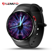 "Lemfo les1 smartwatch ultrafino 1.39 ""oled pantalla android 5.1mtk6580 pulsómetro gps de apoyo gimnasio rastreador smartwatch"