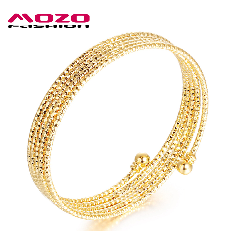 new fashion jewelry gold color bracelets