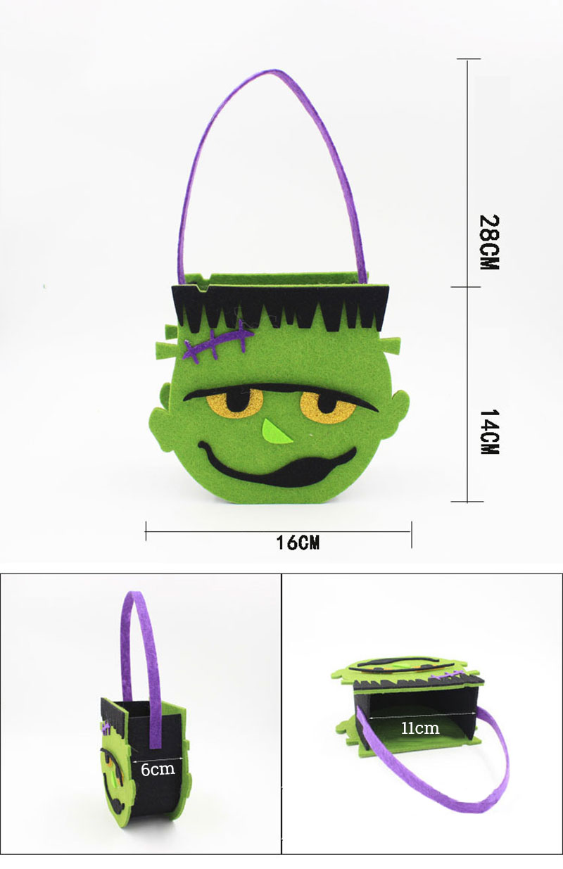 Weihnachtsbaumschmuck 2015 Us 2 49 14 Off 1 Pcs Pack 2018 New Halloween Decoration Bag Adults Kids Festival Diy Birthday Party Decorations Owl Hulk Pumpkin Skull Box In