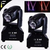 10w DMX Kompakte Bühne Film/Moving Head Beleuchtung Spot Projektor Kopf Moving für Theater/Disco Venue Bühne licht schmücken