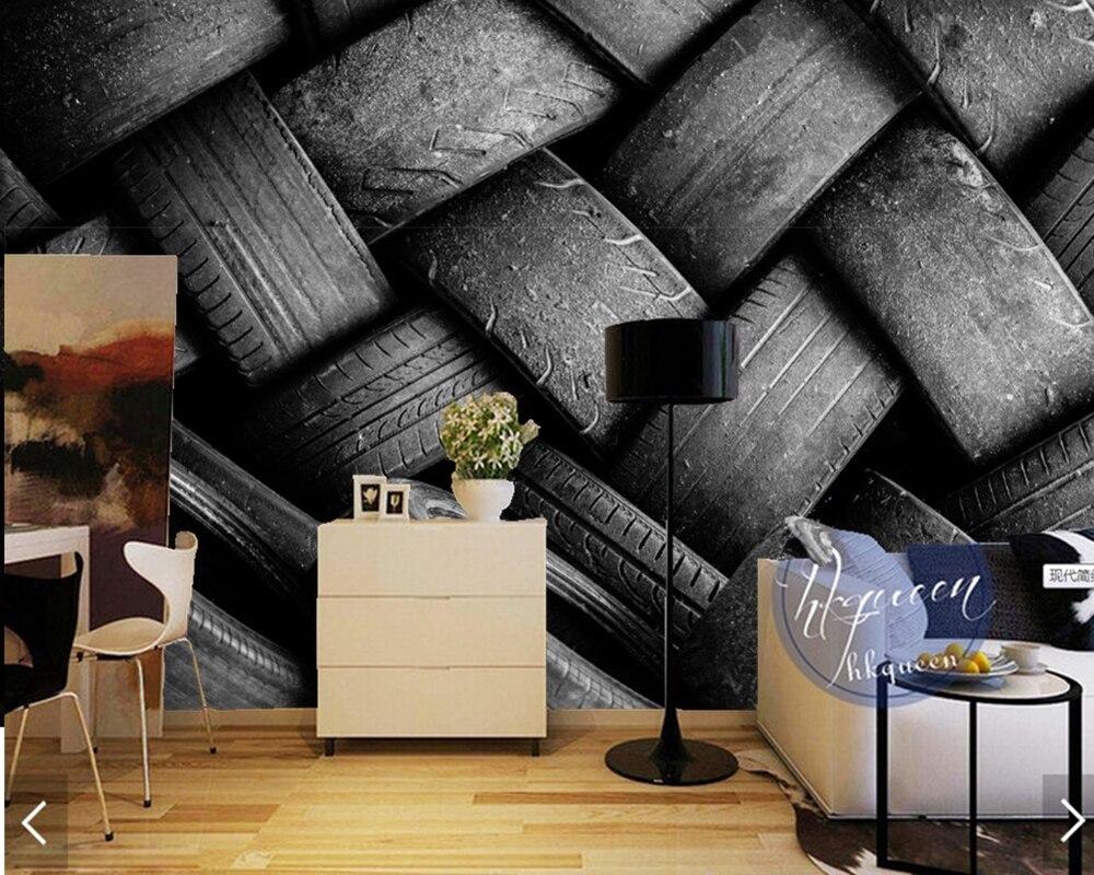 Пользовательские Современные настенные покрытия, плитка Фреска для гостиной бар КТВ оформление отелей стены papel де parede декоративные обои