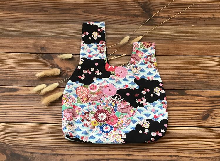 2019 Japanese Style Woman Retro Kimono Female Bag Other Color