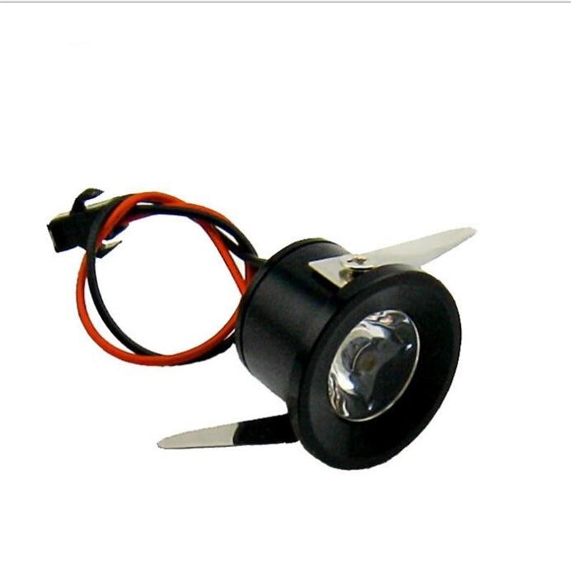 10pcs/Lot 1W Mini LED Star light led cabinet light mini led downlight 85-265v CE ROHS ceiling lamp spot led free shipping