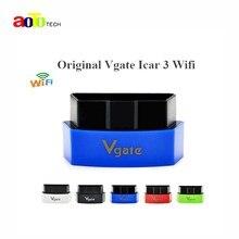 Новый Vgate iCar3 Wi-Fi ELM327 OBD OBDII OBD2 Wi-Fi ELM 327 Автомобиля Диагностический Инструмент интерфейс Поддержка Android/IOS/ПК