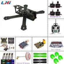 Lipo Quadcopter Quadro De Fibra De Carbono Diy Mini Drone 220 220mm Para O Qav-r 220 + f3 Controlador de Vôo Lhi 2204 2300kv