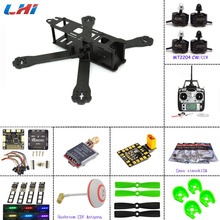 Lipo Fpv Camera Carbon Fiber Diy Mini Drone Fpv 220 220mm Quadcopter Frame For Qav-r 220+f3 Flight Controller Lhi 2204 2300kv