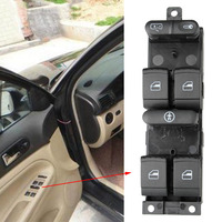 High Quality Universal Auto Power Window Master Control Switch Electric Button For VW 99 04 GTI