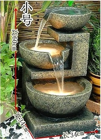 European Home Furnishing Water Fountain Decoration