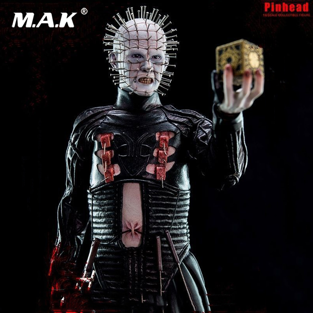 Collectible 1/6 ScaleHellraiser III Hell on Earth Pinhead Collectible 12 Action Figure Doll Toys Gift 1 6 scale figure doll troy greece general achilles brad pitt 12 action figures doll collectible figure plastic model toys