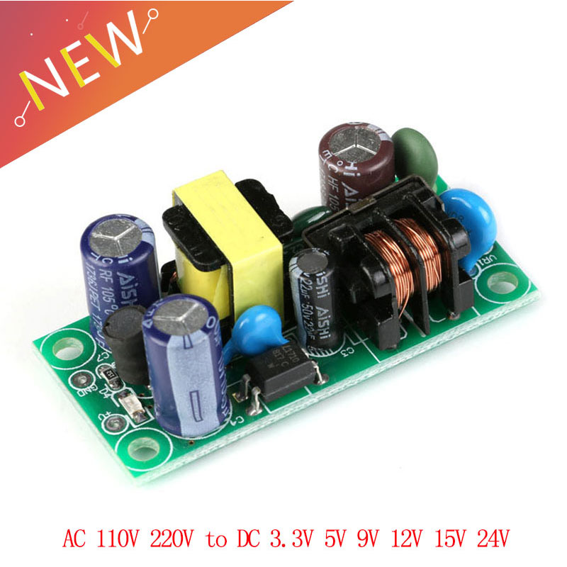 AC 110V 220v to DC 3.3V 5V 9V <font><b>12V</b></font> 15V 24V Switching <font><b>Power</b></font> <font><b>Supply</b></font> <font><b>Board</b></font> Isolated Switch Step Down Module image