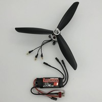 8 inch 8045 3 blade propeller CW CCW with Hobbywing 30A ESC with motor for Remote control FPV Quadcopter