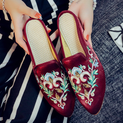 slides women designer winter sandals warm and cozy home slippers with flower famous brand flip flops sweet lace bow Slip on medicine science type blood test slides and marrow slides