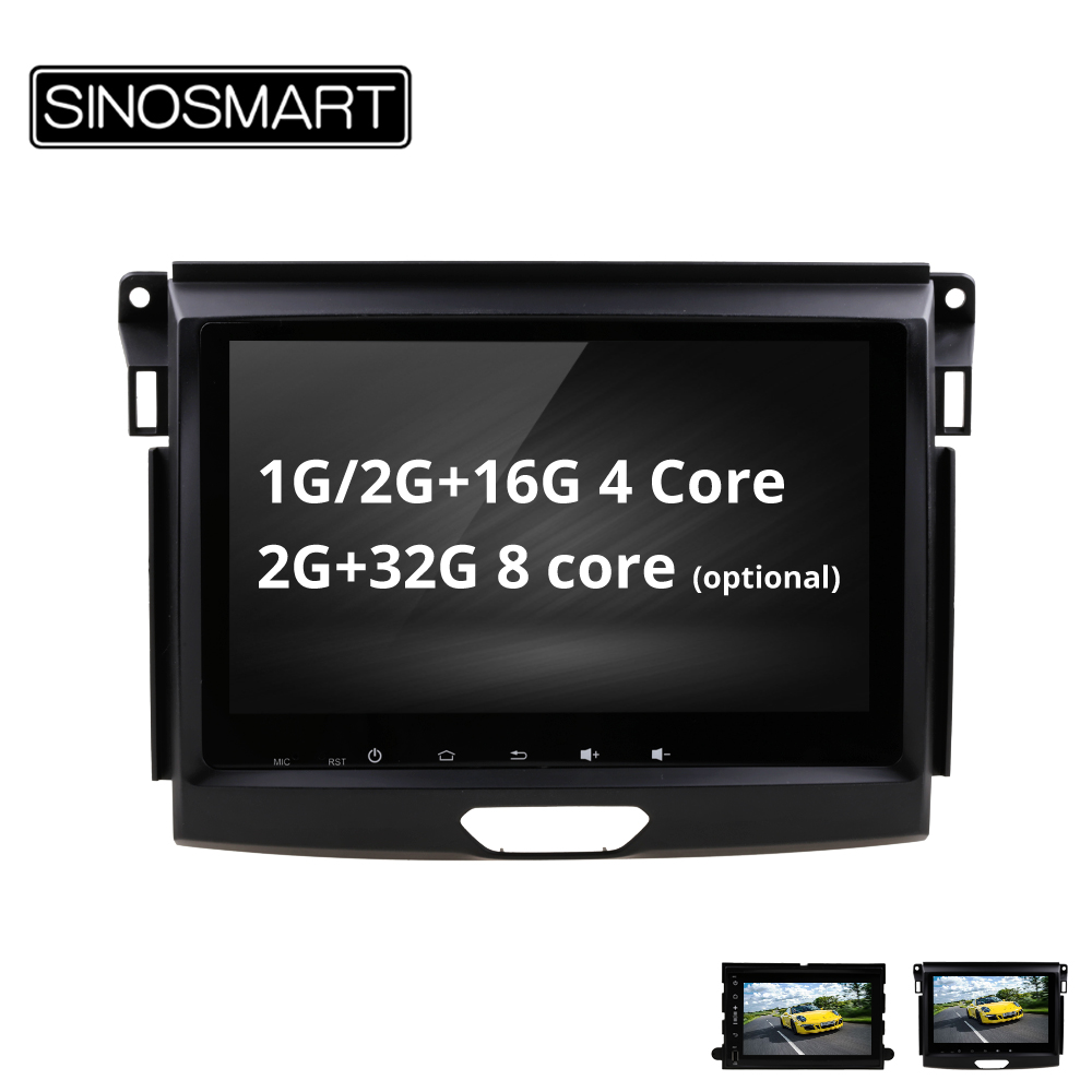 SINOSMART 4 8 Core CPU 2G RAM Android 8 1 Car GPS Navigation for Ford Everest