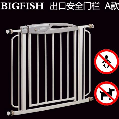 74 ~ 130 cm (añadir la extensión) Bigfish puerta de la escalera cerca del animal doméstico infantil niño perro perro valla puerta
