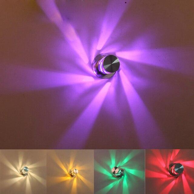 sinfull 1 w led moderne unieke aluminium wandlampen kleine gang bed wandlampen ktv bar led verlichting