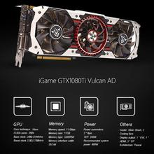 Colorful iGame GTX1080Ti Vulcan AD 11GB Video Graphics Card 1594 1708MHz forNIER dec21