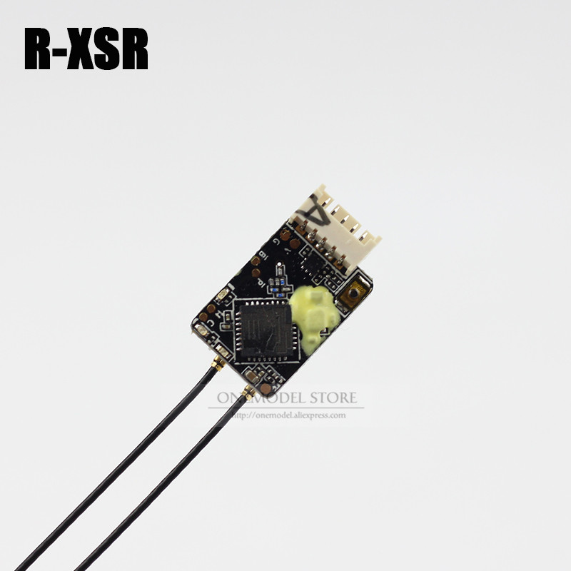 FrSky R XSR/RXSR Ultra SBUS/CPPM Switchable D16 16CH Mini Redundancy Receiver RX 1.5g for RC Transmitter TX Drone Models DroneParts & Accessories   -