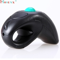 Top Quality New Arrival 2 4GHz USB Handheld Wireless Mouse Pointer Using Optical Trace Ball Laser