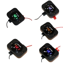 DC 12-24V Waterproof Car Boat Motorcycle LED Voltmeter Digital Display Volt Voltage Meter Gauge Durable Quality