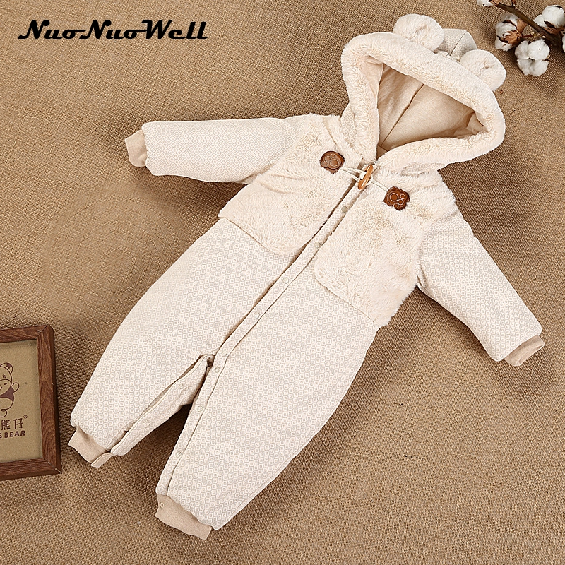 NNW NEW Baby Rompers in Winter Clothes Long Sleeved Newborn Boys Girls 100% Cotton Baby Jumpsuit Infant Baby Clothing for 0-2Y winter newborn bear jumpsuit patchwork long sleeve baby rompers clothes baby boys jumpsuits infant girls clothing overall
