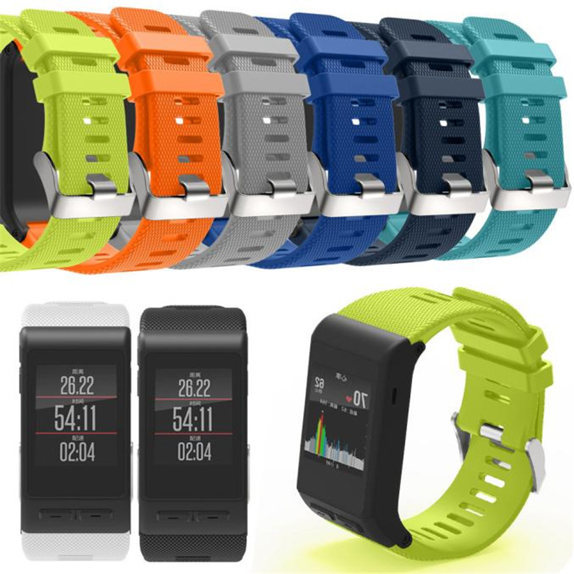 Factory price New Fashion Sports Silicone Bracelet Strap Band For Garmin vivoactive HR Drop Shipping Dec1 Drop Shipping цена