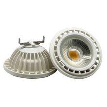 AR111 QR111 ES111 GU10 LED lamp 15W  Input AC DC 12V spotlight cob light Ampoule G53 warm white / cool white dimmable bulbs