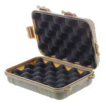 Hermetic Box Shockproof Waterproof Storage Box Outdoor Container Tan L
