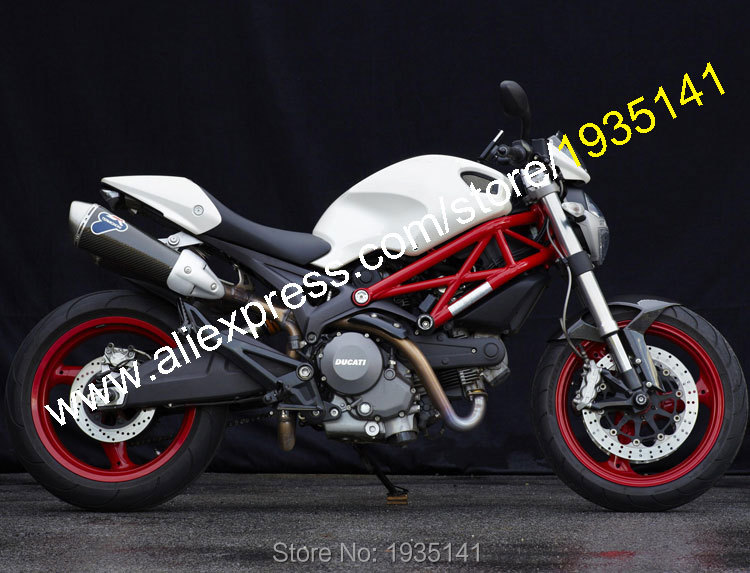 Hot Sales,For Ducati Fairing Kit 696 796 795 2009-2013 M1000 M1100 Full White Cheap Motorcycle Fairings Set (Injection molding) hot sales yzf600 r6 08 14 set for yamaha r6 fairing kit 2008 2014 red and white bodywork fairings injection molding
