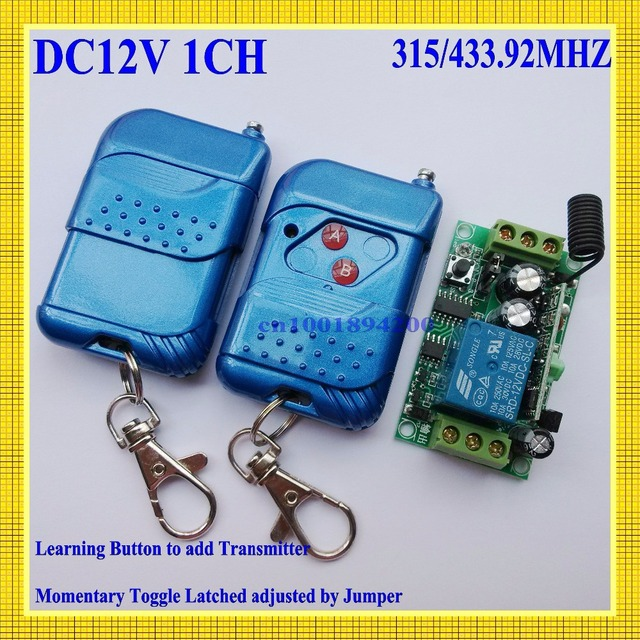 dc 12v 1ch remote switch 10a relay no com nc wireless power on off rh aliexpress com