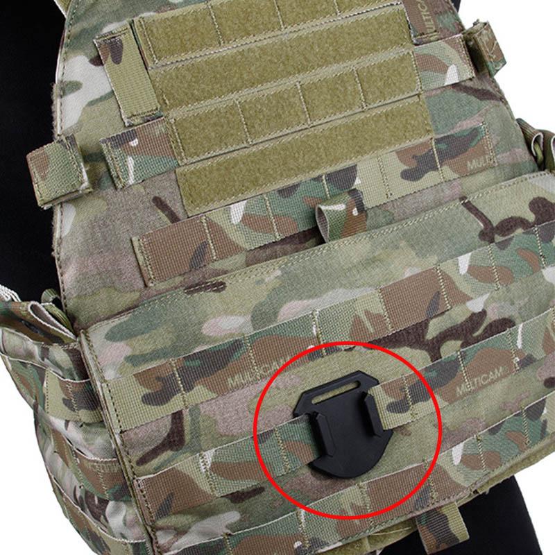 for Go Pro Accessories Tactical Vest CNC Plane Base Molle Connection Mount for GoPro Hero 7 6 5 4 3+ Sjcam Xiaomi YI 4K EKEN Cam 3 in 1 corner rounder