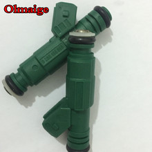 High performance Green Giant 42lb E85 440cc fuel injector 0280 155 968 0280155968 for VW AUDI VOLVO Golf