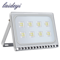 LAIDEYI 50 W LED מבול אור חם/קר לבן חיצוני אבטחת גן נוף זרקור Led רפלקטור מנורת קיר חיצוני תאורה