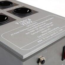 Выборг 8 способов Schuko Разъем AC мощность распределитель 3300 Вт/15A 50 Гц 3 кг Мощность Завод с защитой от перенапряжений VE80 фильтр