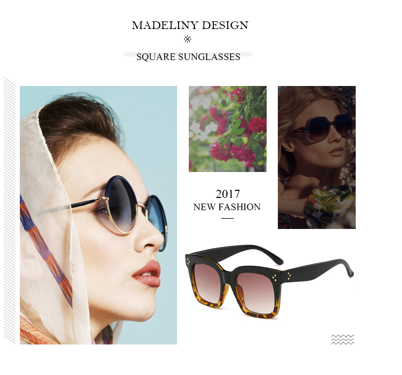 HTB1mW9kdjnD8KJjSspbq6zbEXXap - MADELINY Fashion Sunglasses Women Vintage Brand Design Square Luxury Sun glasses Big Frame Shades Eyewear Oculos UV400 MA033